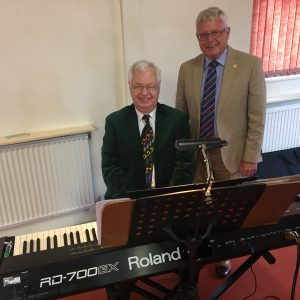 alfreton male voice choir assistant accompanist michael anthony